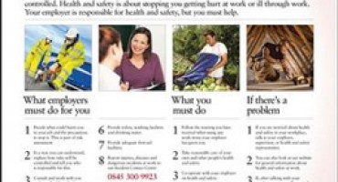 Deadline for employers to display Health & Safety Law poster at work