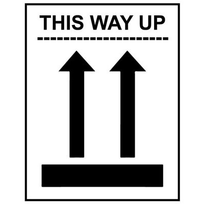 This Way Up Labels 58160 Proshield Safety Signs