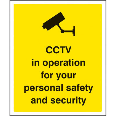 Security Safety Signs