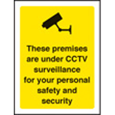 These Premises Are Under CCTV Surveillance 59790