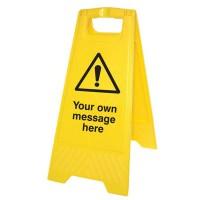 Free Standing Warning Signs