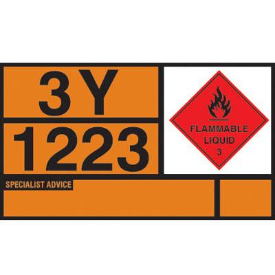 Hazchem Placards & Vehicle Plates