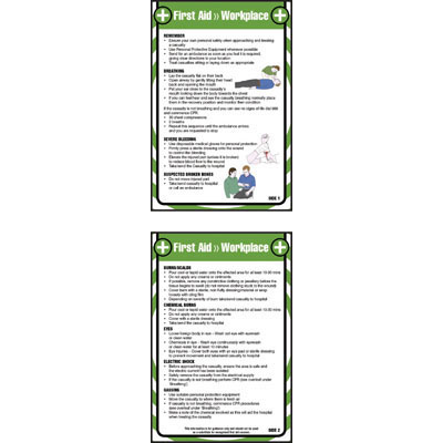 Safety Posters & Pocket Guides