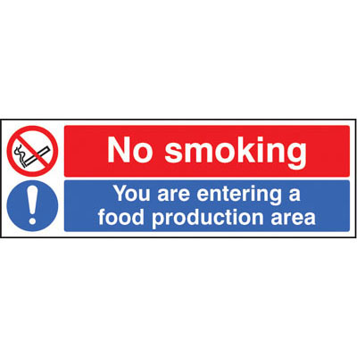 Buy Catering And Hygeine Signs Safety Warning