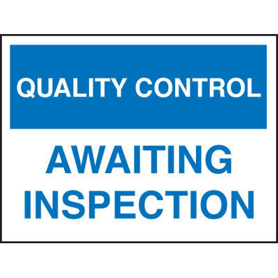 Quality Control & Safe Working Loads