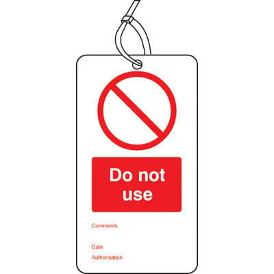 Lockout Signs & Tags