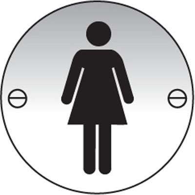General information signs uk safety signs proshield for Stainless steel bathroom signs