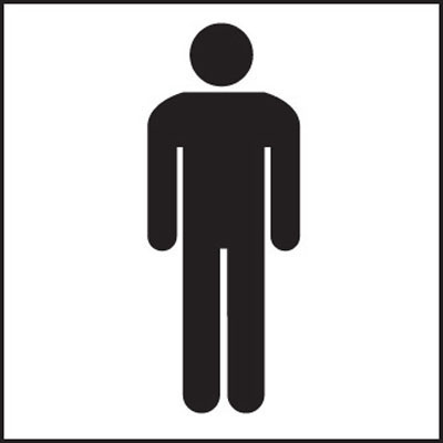 Gents Toilet Symbol Signs 7025 Proshield Safety Signs