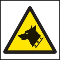Guard dog symbol warning signs