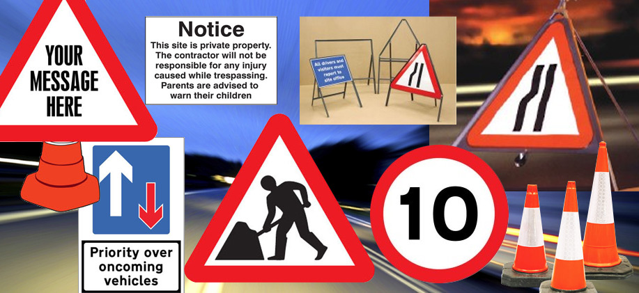 Road and Traffic Signs image