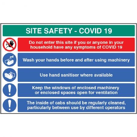 Coronavirus Site Safety Notices