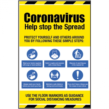 Coronavirus Information Signs
